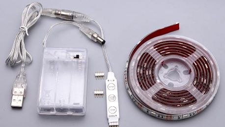 Stmívatelné LED pásové osvětlení - různé délky