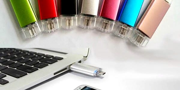 USB a micro USB flash disk 16 GB