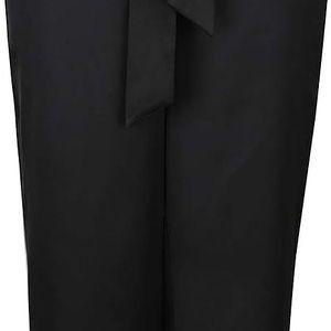 Černé kalhoty s vázankou Dorothy Perkins