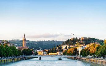 Itálie: 3denní výlet pro 1 osobu. Valentýnská Verona, jezero Lago di Garda, hrad Sirmione
