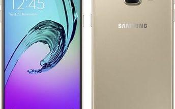 Mobilní telefon Samsung A3 2016 (SM-A310F) (SM-A310FZDAETL) zlatý