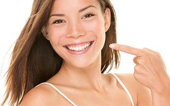 2x 20min. bělení zubů + 10min. remineralizace zubní skloviny, bezbolestná a efektivní metoda.