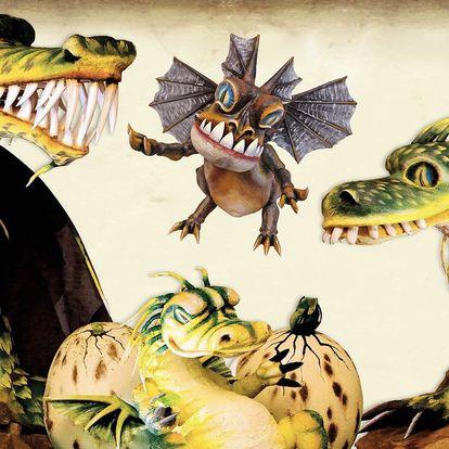 Rodinné vstupné na prohlídkový okruh plný draků