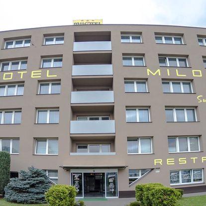 Víkend v Hotelu Milotel *** v Olomouci