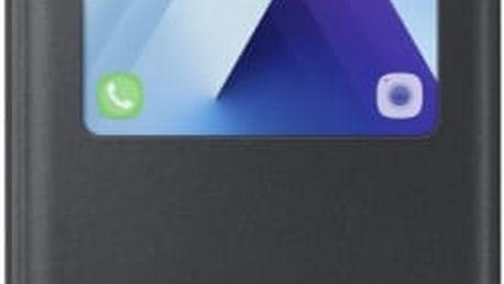 Pouzdro na mobil flipové Samsung pro Galaxy A5 2017 (EF-CA520P) (EF-CA520PBEGWW) černé