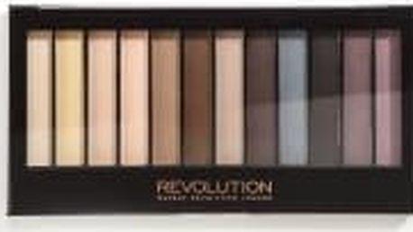 Makeup Revolution Redemption Palette Essential mattes - paletka očních stínů