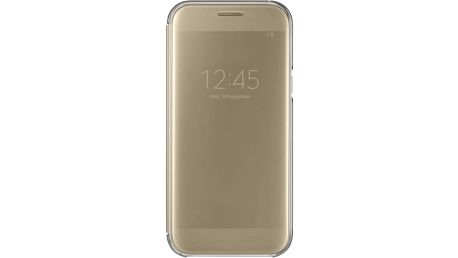 Pouzdro na mobil flipové Samsung pro Galaxy A5 2017 (EF-ZA520C) (EF-ZA520CFEGWW) zlaté