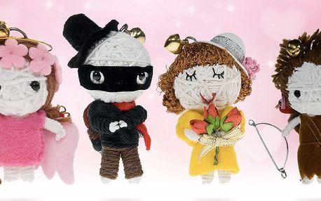 Valentýnské štěstí: milé panenky Minivoodoo