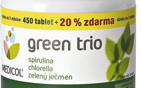 TOPNATUR Green Trio Chlor.Spirul.Z.ječmen tbl.540