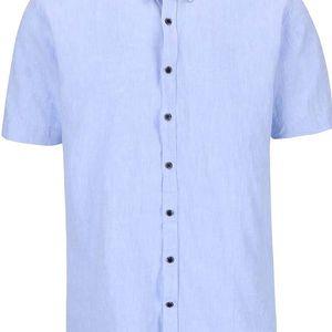 Světle modrá košile Lindbergh Dress Fit