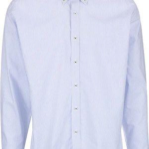 Bílo-modrá pruhovaná pánská košile Seven Seas