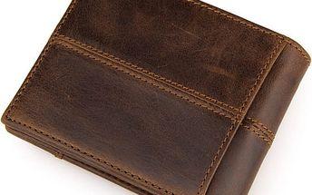 Pánská retro peněženka jednoduchá