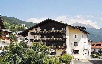 Rakousko - Tyrolsko na 5 až 8 dní, polopenze s dopravou vlastní