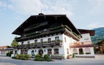 Rakousko - Kitzbühel / Mittersill na 5 až 8 dní, polopenze s dopravou vlastní
