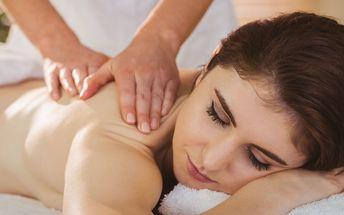 60minutová zdravotní masáž dle výběru