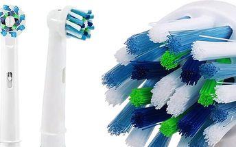 Profesionálně navržené náhradní hlavice pro elektrické zubní kartáčky Braun ORAL-B