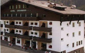 Itálie - Val di Fassa e Carezza na 8 dní, polopenze s dopravou vlastní