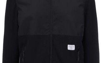 Černá pánská bunda s kapucí Pepe Jeans Casavettes