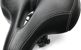 Široké a pohodlné cyklistické sedlo