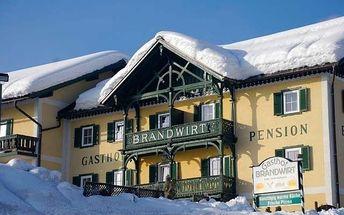 Rakousko - Dachstein West na 4 až 8 dní, polopenze nebo snídaně s dopravou vlastní