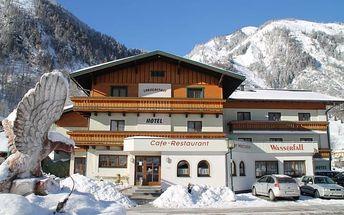 Rakousko - Kaprun / Zell am See na 5 až 6 dní, polopenze s dopravou vlastní
