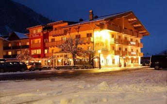 Rakousko - Kaprun / Zell am See na 8 dní, polopenze s dopravou vlastní