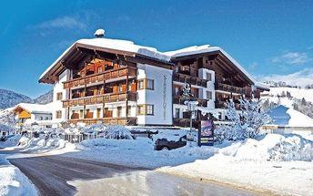 Rakousko - Alpbachtal / Wildschönau na 8 dní, polopenze s dopravou vlastní