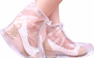 Vodovzdorné návleky na obuv - dámské a pánské provedení