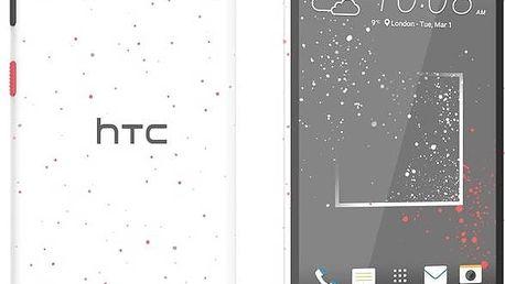 Mobilní telefon HTC Desire 630 Dual SIM - sprinkle white (99HAJM005-00) + Doprava zdarma