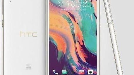 Mobilní telefon HTC Desire 10 Lifestyle - polar white (99HAKJ007-00) + Doprava zdarma