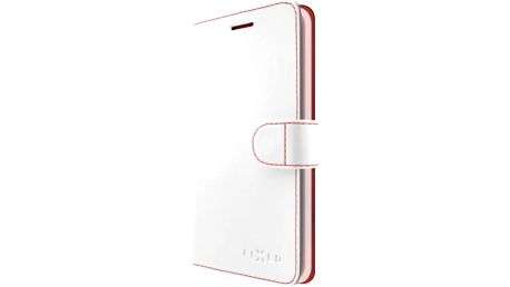Pouzdro na mobil flipové FIXED pro Apple iPhone 5/5S/SE (FIXFIT-002-WH) bílé