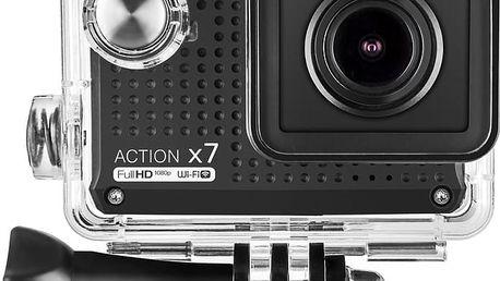 LAMAX ACTION X7 Mira + MadMan čelenka pro akční kamery v ceně 370 Kč