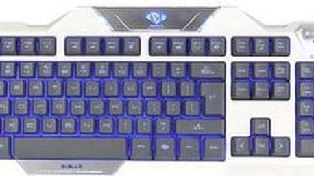 E-BLUE Auroza klávesnice bílá (YCEBUG79TU)