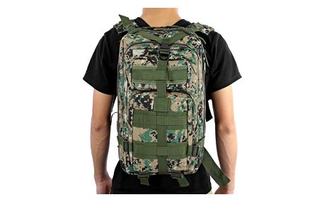 Pánský vojenský batoh s mnoha kapsami - 9 variant