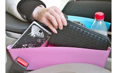 Organizér do auta ve veselých barvách