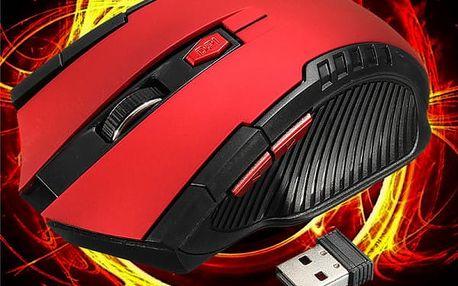 Bezdrátová herní myš v agresivním designu - 3000 DPI