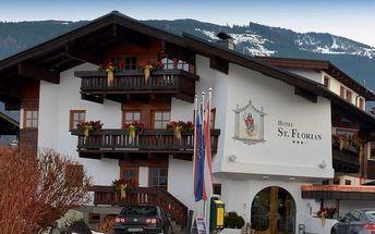 Rakousko - Kaprun / Zell am See na 5 dní, polopenze s dopravou vlastní