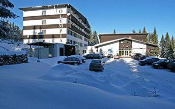 Šumava na 4 dny pro 2 osoby s polopenzí v lyžařském středisku Zadov – Churáňov