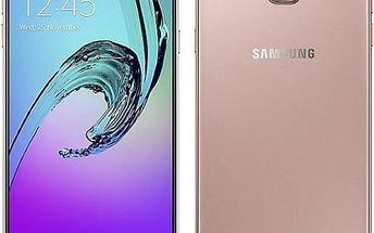 Mobilní telefon Samsung A5 2016 (SM-A510F) (SM-A510FEDAETL) růžový