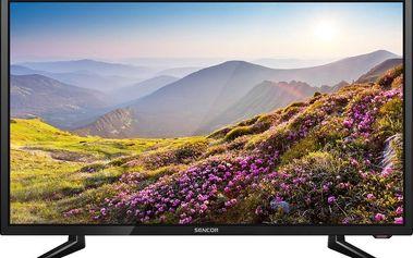 Menší LED televize Sencor SLE 2463TC