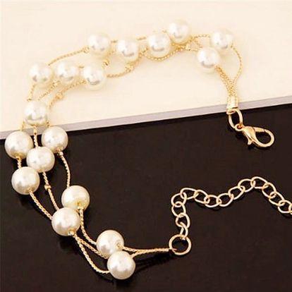 Elegantní perlová sada šperků