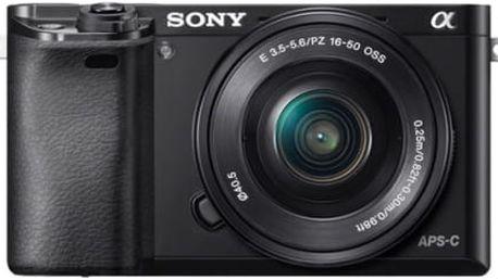 Digitální fotoaparát Sony Alpha A6000 + 16-50mm černý