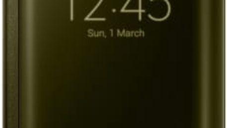 Pouzdro na mobil flipové Samsung pro Galaxy S6 Edge (EF-ZG925B) (EF-ZG925BFEGWW) zlaté