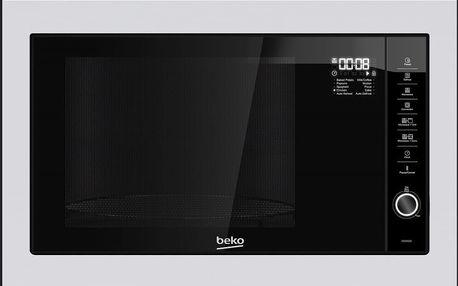 Vestavná mikrovlnná trouba Beko MGB 25332 BG