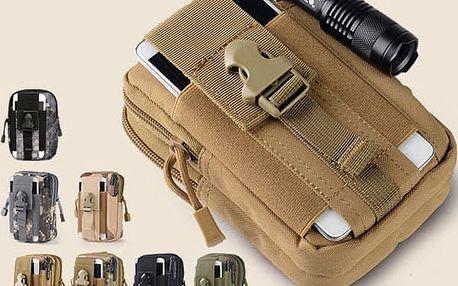 Taktická pánská taška k opasku kalhot