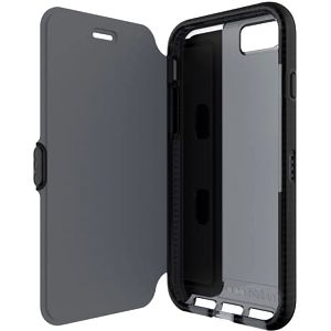 Pouzdro na mobil flipové Tech21 Evo Wallet pro Apple iPhone 7 Plus (T21-5357) černé