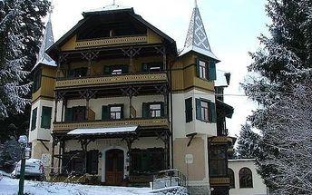 Itálie - Val Gardena na 5 až 8 dní, polopenze s dopravou vlastní