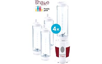 CONCEPT SM-3354 Smoothie maker SHAKE AND GO Family pack 4 láhve