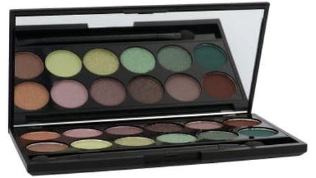 Sleek MakeUP I-Divine Eyeshadow Palette 13,2 g oční stín pro ženy 447 Garden Of Eden