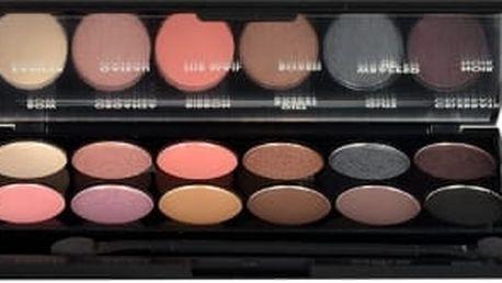 Sleek MakeUP I-Divine Eyeshadow Palette 13,2 g oční stín pro ženy 658 Oh So Special